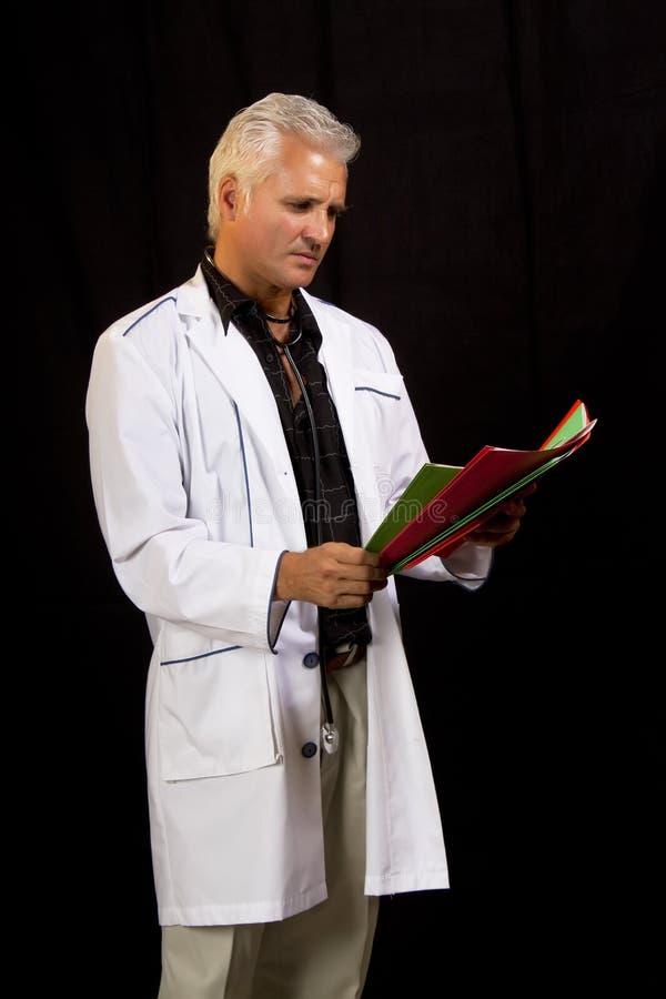 doktorska szpitalna samiec zdjęcie royalty free