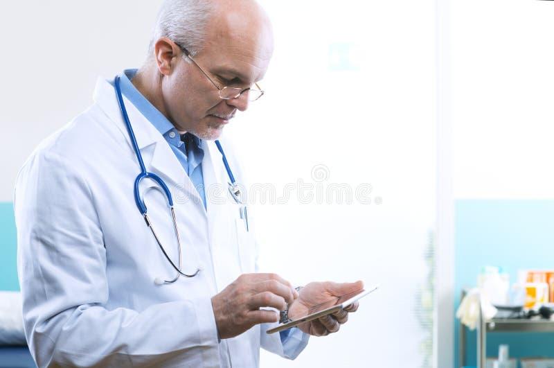 Doktorska używa pastylka obraz royalty free