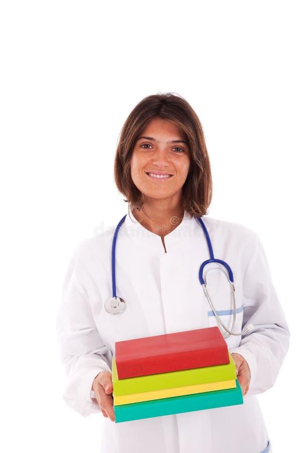 doktorski żeński życzliwy zdjęcia royalty free