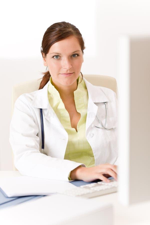 doktorski żeński medyczny biuro zdjęcia stock