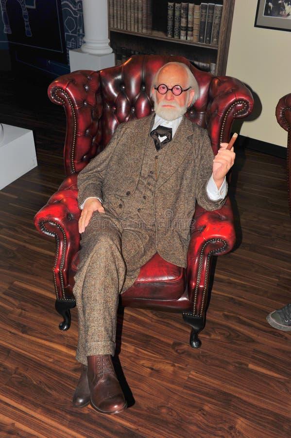 doktorski Freud madame s sigmund tussaud fotografia royalty free