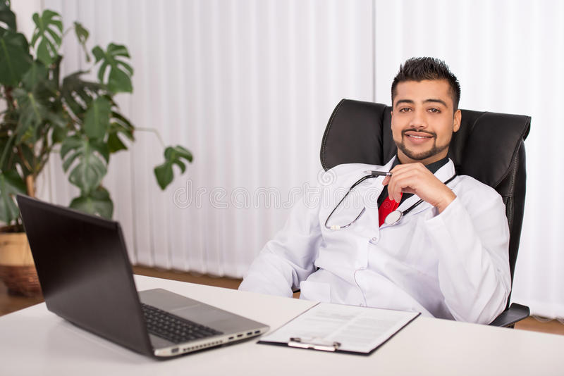Doktorski indianin zdjęcia stock