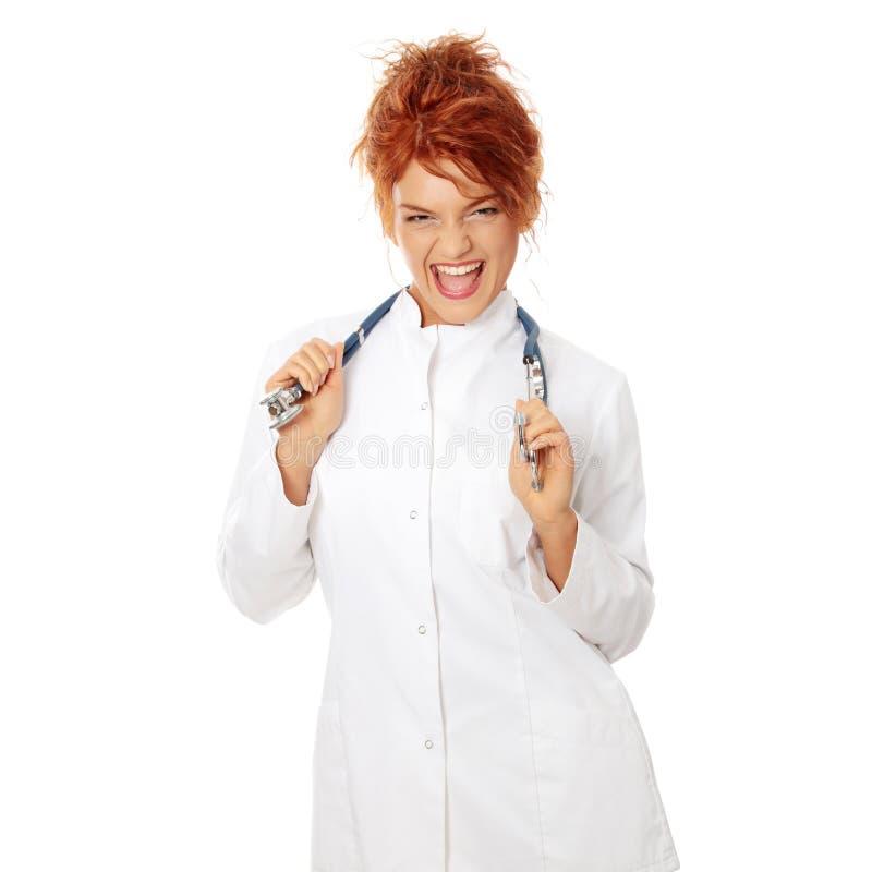 doktorski medyczny ja target339_0_ pielęgniarki zdjęcia stock