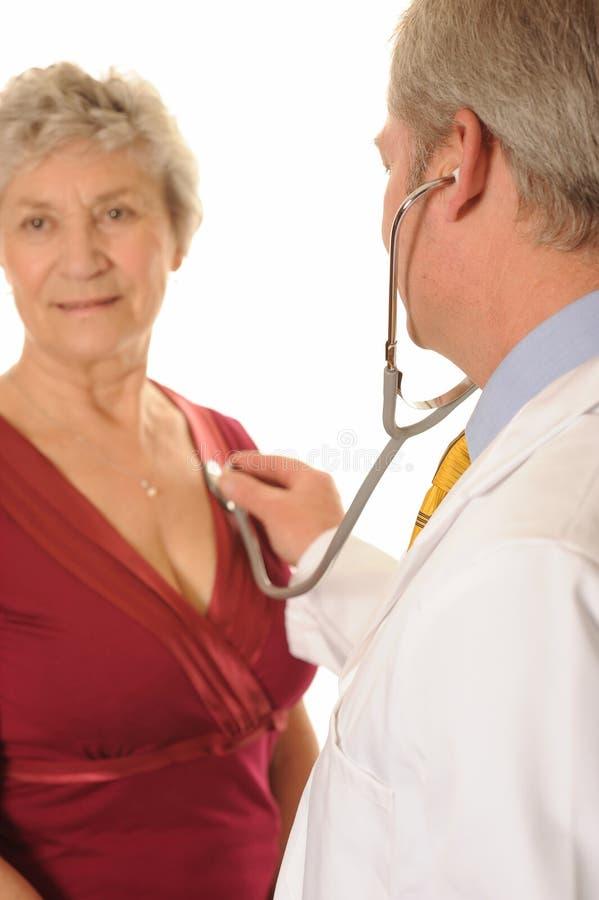 doktorski pacjent obraz stock