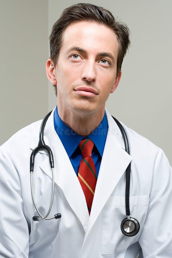 Doktorski przyglądający up obraz stock