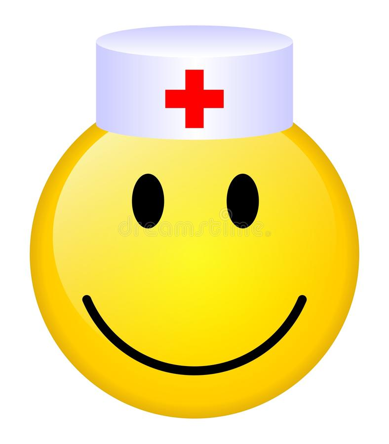 doktorski uśmiech ilustracji