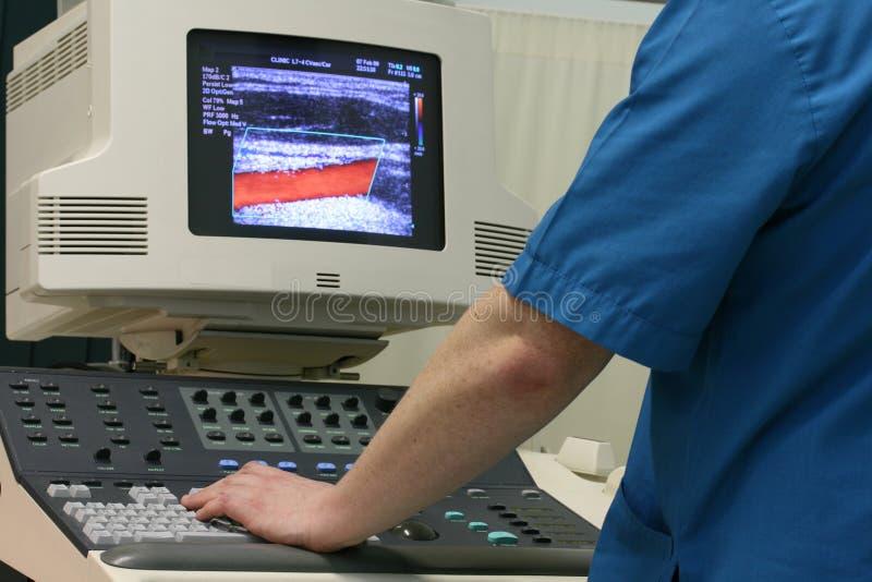 doktorski ultradźwięk zdjęcie royalty free