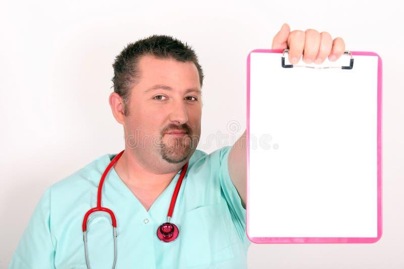 Doktorskie pokazuje falcówki fotografia stock