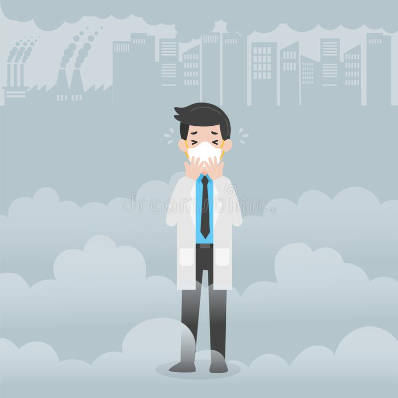 Doktorskiego charakteru opieki zdrowotnej Medyczny pojęcie royalty ilustracja