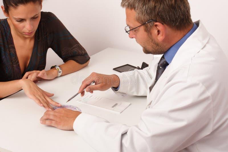 doktorstålmodig arkivfoton