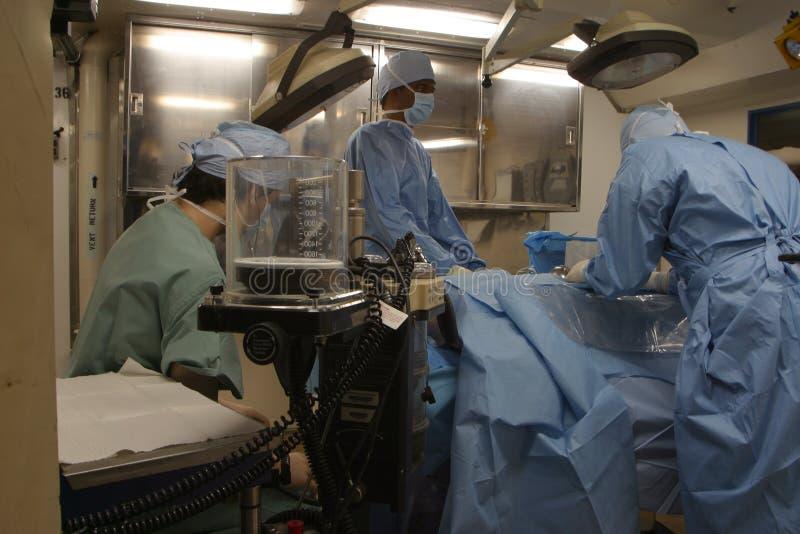 doktorze sali operacyjnej obrazy stock