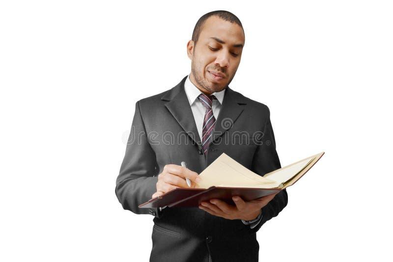 Dokument und Vertrag lizenzfreie stockfotos