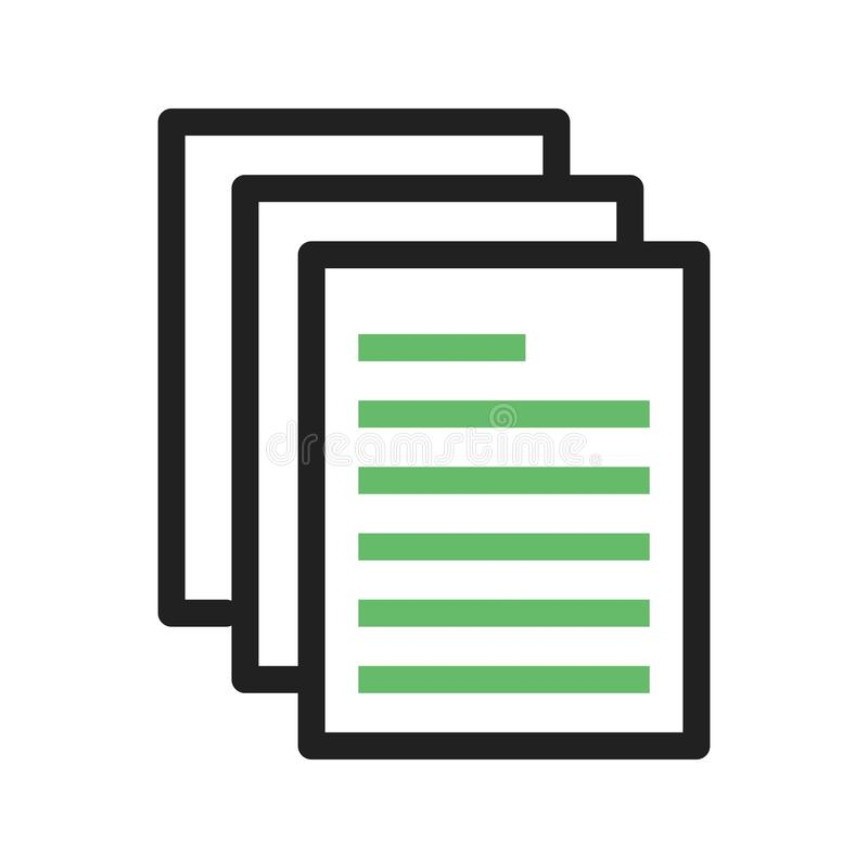 Download Dokumentation vektor illustrationer. Illustration av begrepp - 78731782