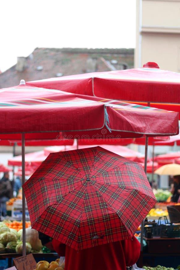 Dolac Market, Zagreb royalty free stock images