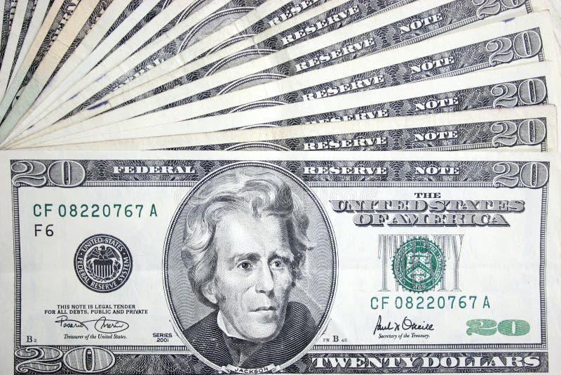 dolarów 20 Jackson obrazy royalty free