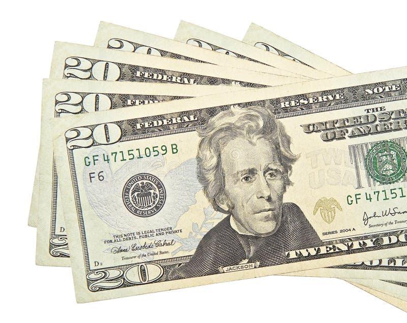 dolarów fotografia stock