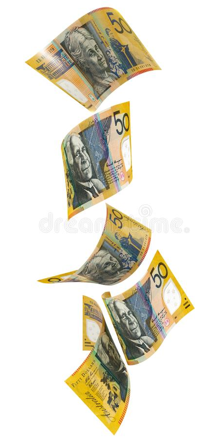 50 dolarów australijskich Vartical ilustracji
