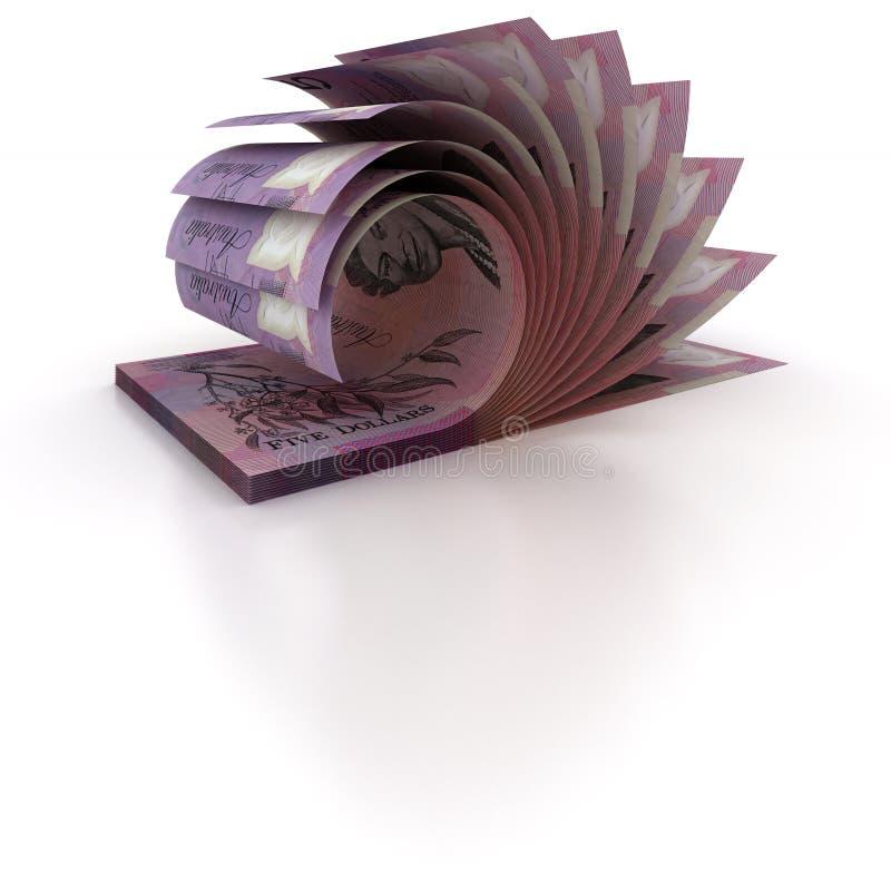 5 dolarów australijskich wsadów zdjęcia royalty free
