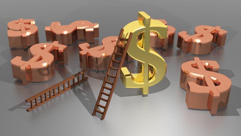 Dolar ilustracja wektor