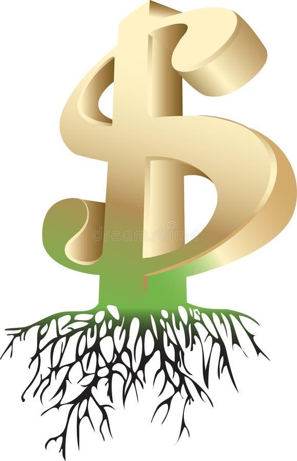 dolar royalty ilustracja