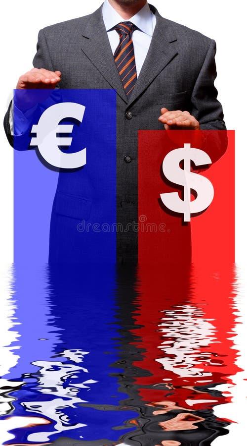 dolar euro zdjęcia royalty free