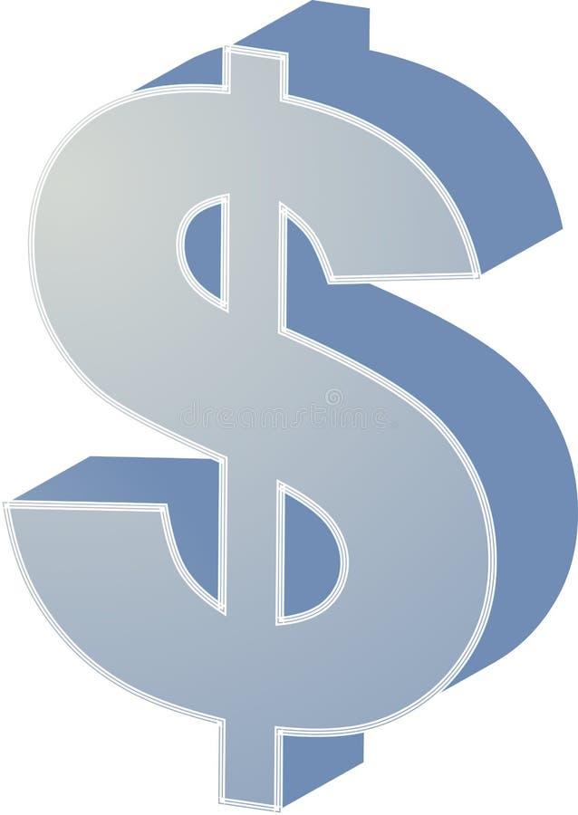 dolar my royalty ilustracja