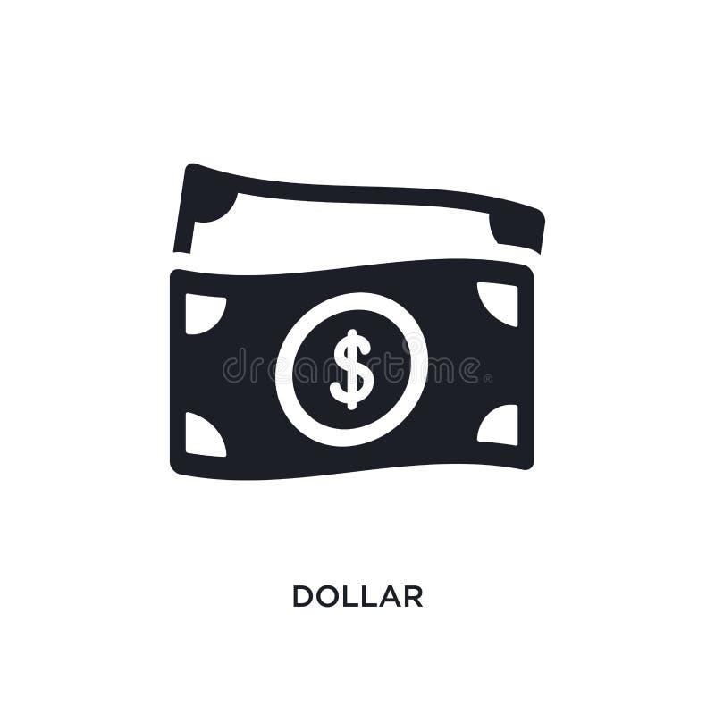 dolar odosobniona ikona prosta element ilustracja od płatniczych pojęcie ikon dolarowy editable logo znaka symbolu projekt na bie ilustracji
