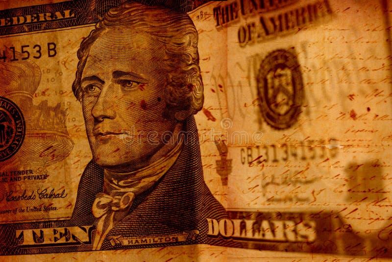 dolar stary zdjęcie stock