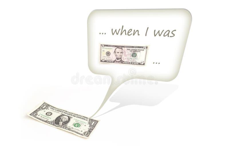dolar target2039_0_ jeden zdjęcia stock