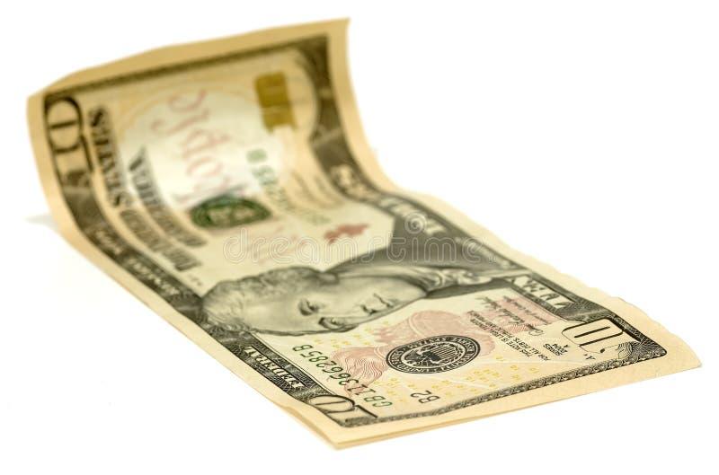 dolar z 10 obrazy royalty free