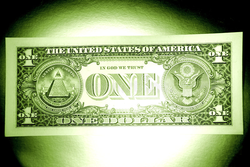 dolar z nas fotografia royalty free