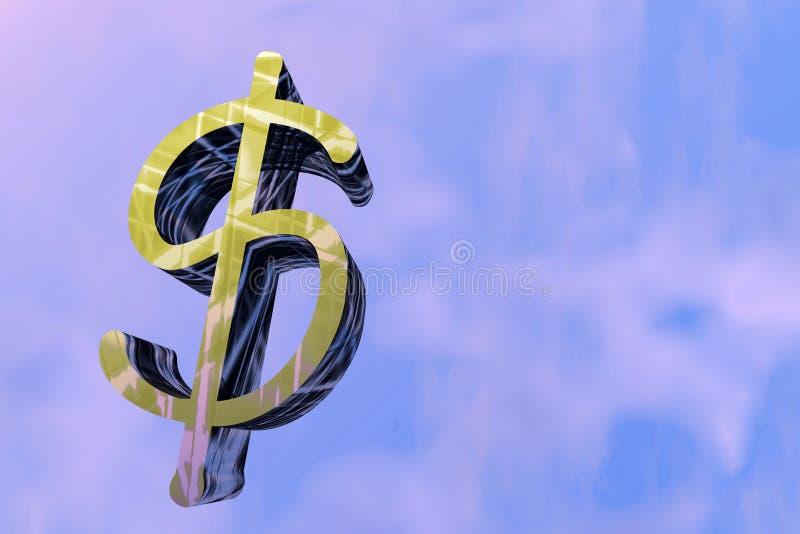 dolar znak ilustracja wektor