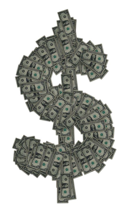 dolar znak zdjęcia stock