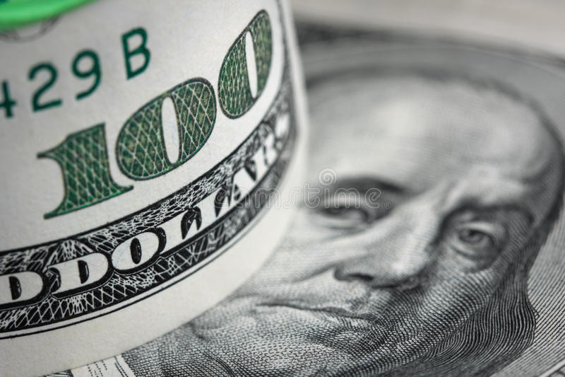 dolara amerykańskiego tło zdjęcia royalty free