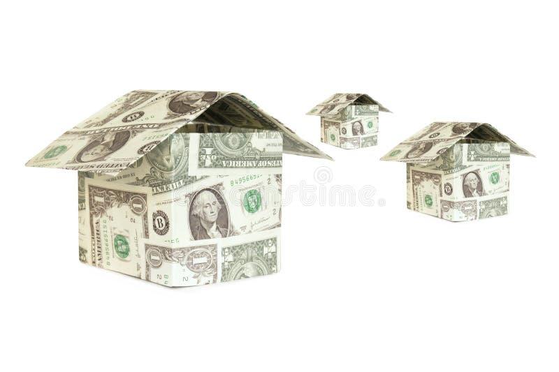 dolara dom zdjęcie stock