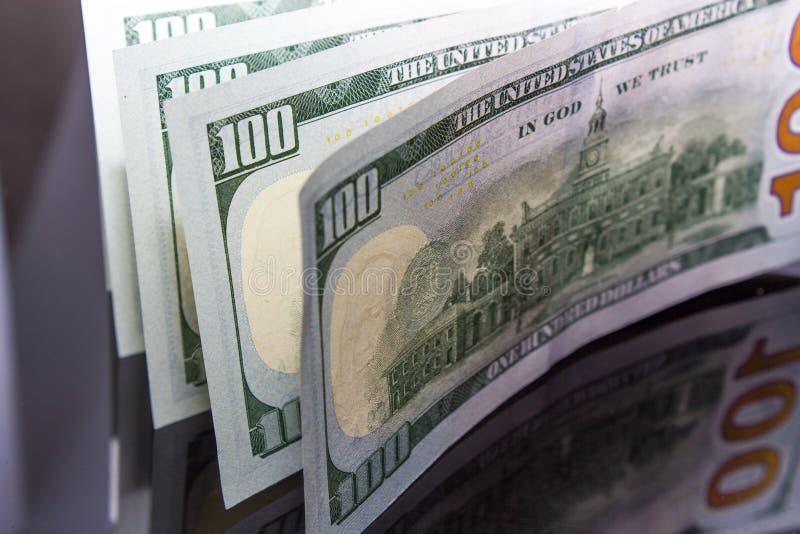 Dolarowi rachunki obraz stock