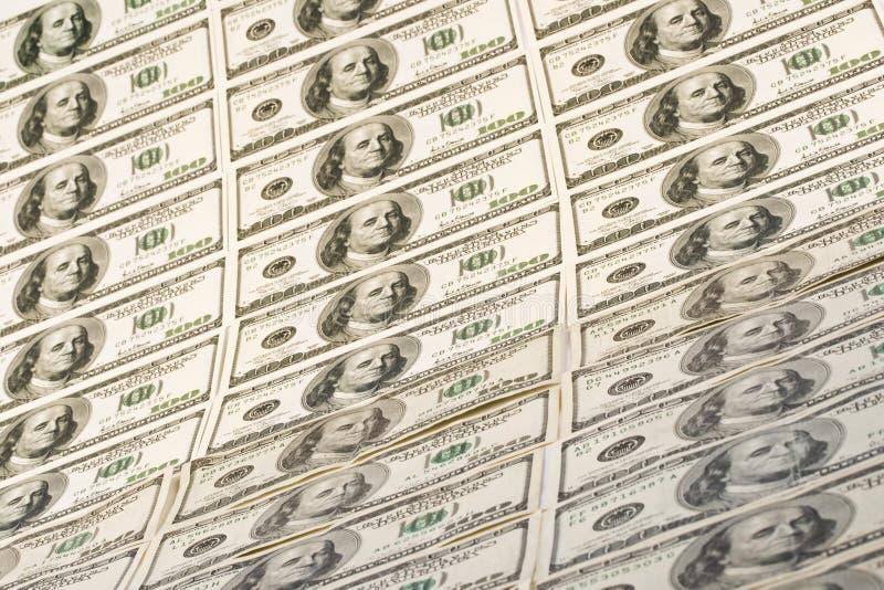dolarowi tło banknoty obrazy stock
