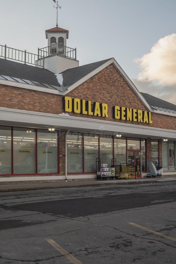 Dolarowy Ogólny sklep zdjęcie royalty free