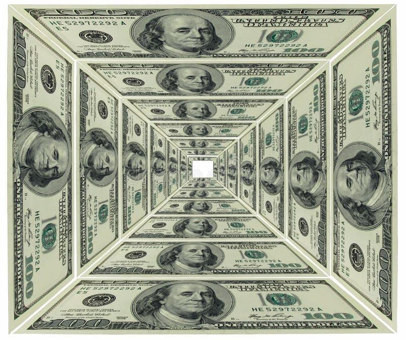 dolarowy ostrosłup zdjęcia royalty free