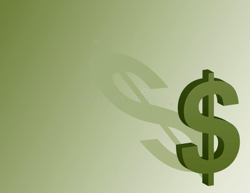 dolarowy tło znak ilustracji