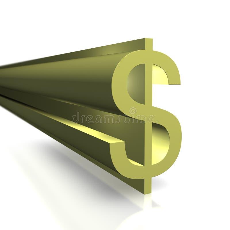 Download Dolarowy znak ilustracji. Ilustracja złożonej z finanse - 13328091