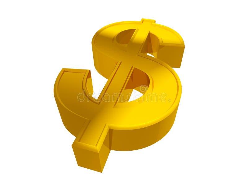 dolarowy znak ilustracji
