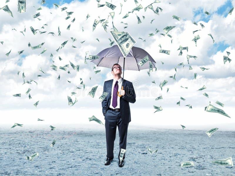 Dolary deszczów royalty ilustracja