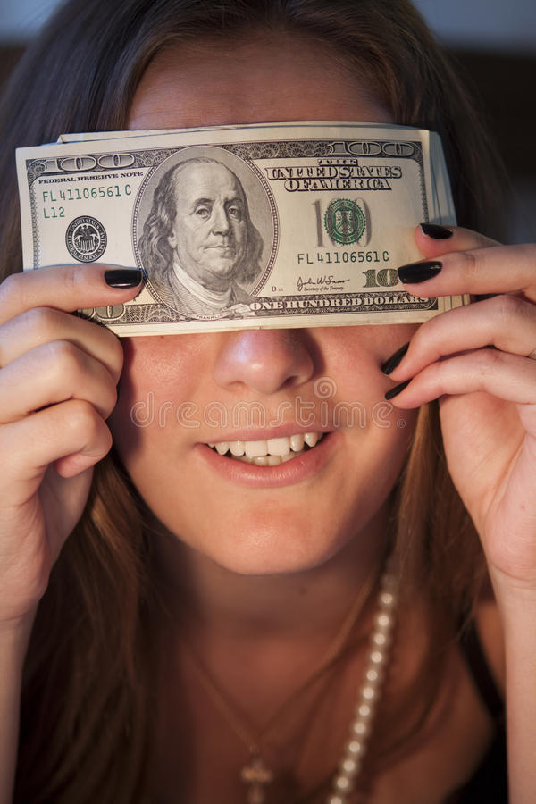 Download Dolary dziewczyna obraz stock. Obraz złożonej z dziewczyna - 13342215