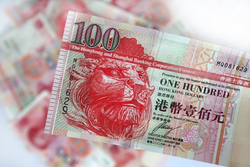 dolary Hong kong zdjęcia stock