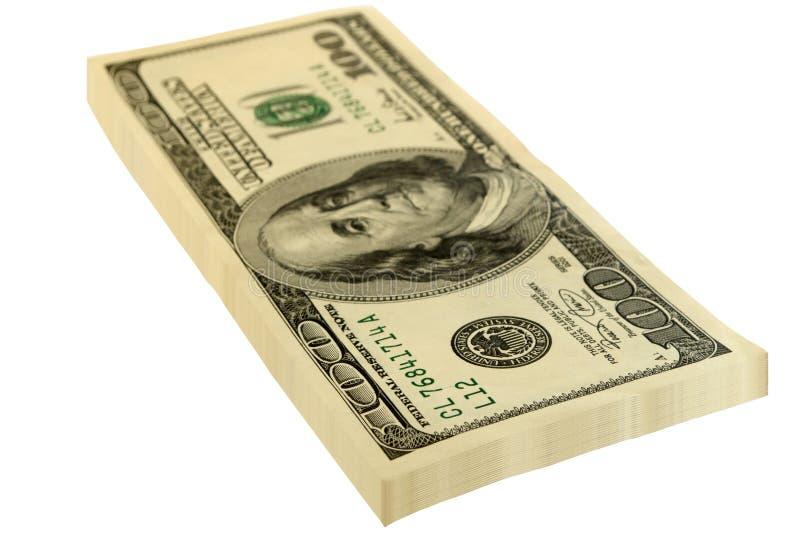 dolary paczka fotografia stock