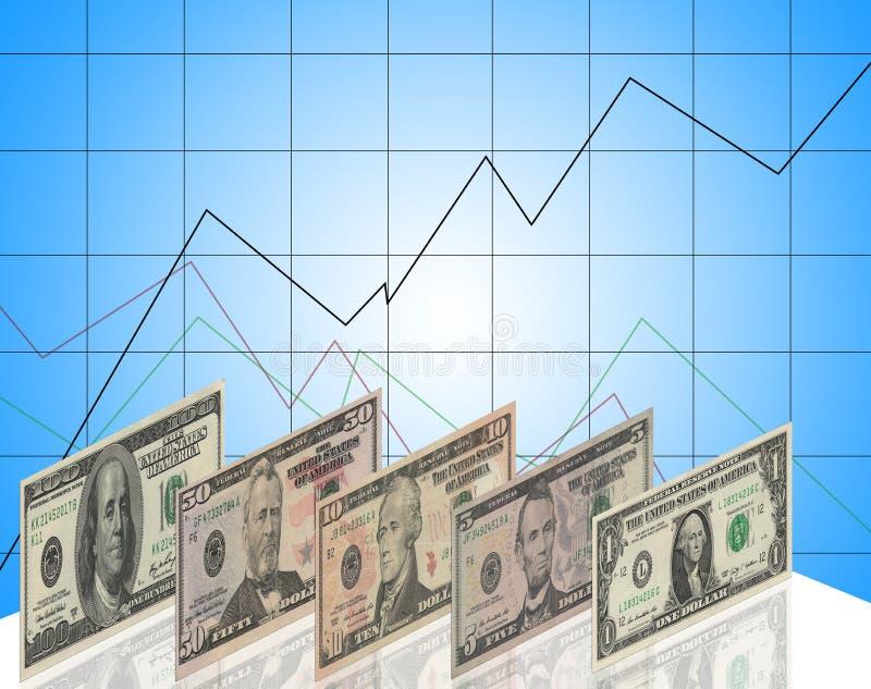 Dolary powystawowi royalty ilustracja