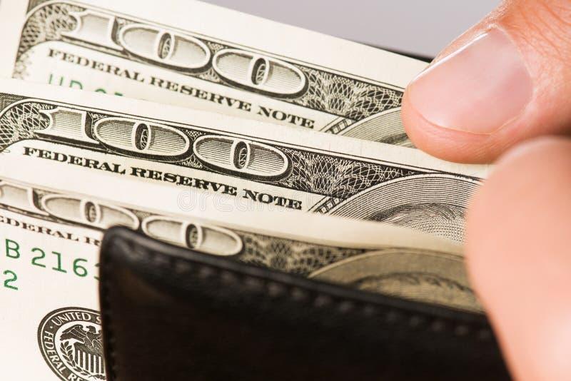 dolary ręka zdjęcia stock