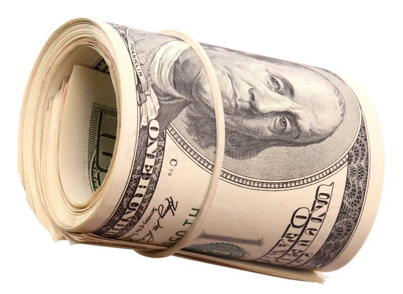 dolary rolka zdjęcie stock
