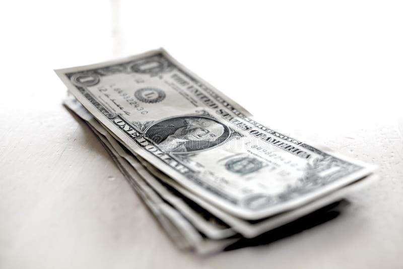 Dolary Spieniężają pieniędzy rachunków bogactwa bogactwa zdjęcie royalty free